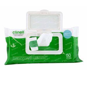 Clinell Lingettes Universelles 50 pièces