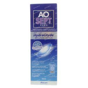 Aosept Plus Met Hydraglyde + 1 Lenscase 360 ml