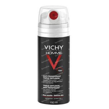 Vichy Homme Deodorant Anti-Transparant Triple 72h Aero 150 ml