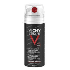 Vichy Homme Deodorant Anti-Transpiratie Triple Diffusion 72h 150 ml