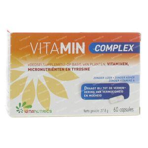 Vitamin Complex 60 stuks Gélules Souples