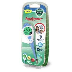 Vicks AgeSmart Family Thermometer VDT969 1 item