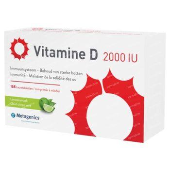 Vitamine D 2000IU 168 kauwtabletten