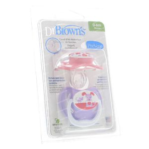 Dr Brown Dummy Level 1 Girl 2 pieces