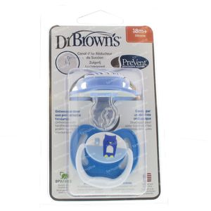 Dr Brown Fopspeen Level 3 Boy 2 stuks