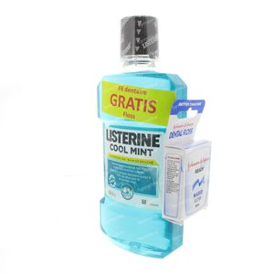 Listerine Coolmint + FREE  Dental Floss 500 ml