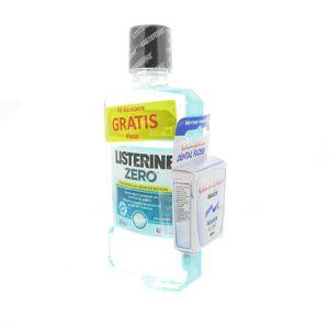 Listerine Zero Mouthwash + FREE Dental Floss 500 ml