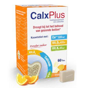 CalxPlus Sinaas zonder Suiker 60 tabletten