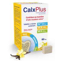 CalxPlus Vanille Sans Sucre 60  comprimés