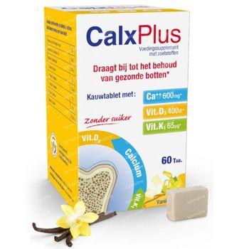 CalxPlus Vanille zonder Suiker 60 tabletten