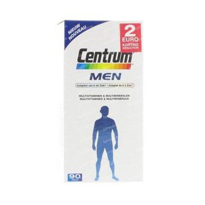 Centrum Men Reduced Price 90 tab