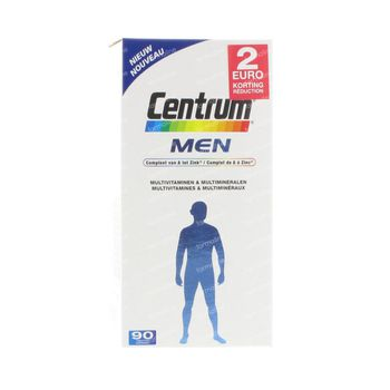 Centrum Men Prix Réduit 90 pièces