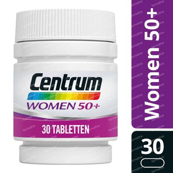 Centrum Women 50+ 30 tabletten