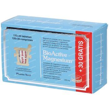 Pharma Nord BioActive Magnesium +30 Tabletten GRATIS 120+30 tabletten