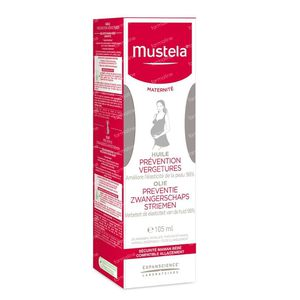 Mustela Maternité Huile Prévention Vergetures 105 ml