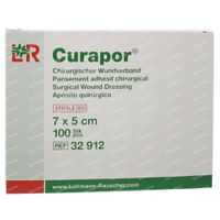 Curapor Verband Adh Steriel 7cm x 5cm 32912 100 st