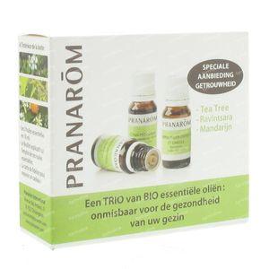 Pranarom Triopack Bio EO 11499 30 ml