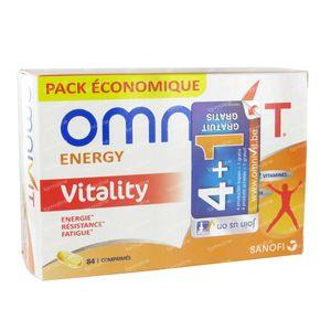 Omnivit Vitality Prix Réduit 42 comprimés