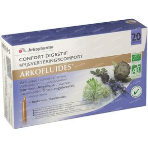 Arkofluide Spijsvertering Bio 20 unidosis