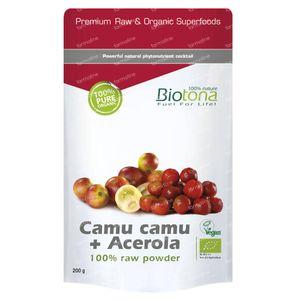 Biotona Bio Camu Camu + Acerola 200 g Poeder
