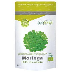 Biotona Bio Moringa 200 g Poeder