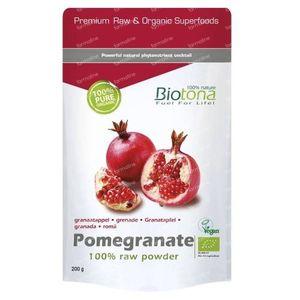 Biotona Bio Granaatappel 200 g poeder