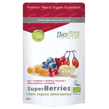 Biotona Superberries Bio 250 g