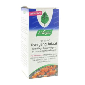 A. Vogel Famosan Overgang Totaal 60 stuks Tabletten