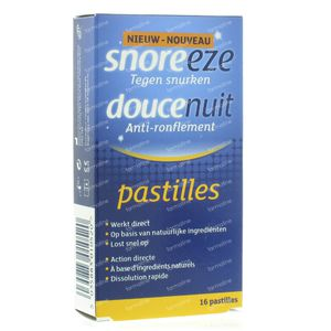 Snoreeze Pastilles Against Snoring 16 St