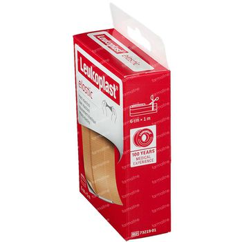 Leukoplast Elastic 6cmx1m 1 st