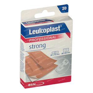 Leukoplast Strong Assortiment 20 pièces