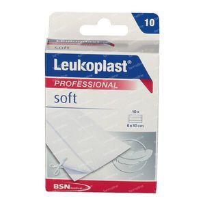 Leukoplast Soft 6cmx10cm 10 pièces