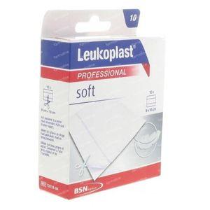 Leukoplast Soft 8cmx10cm 10 pièces