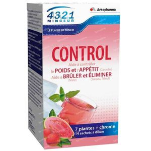 Arkopharma Slimming 4321 Control 14 bustine