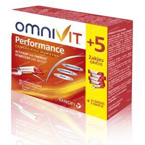 Omnivit Performance Monodosis Prix Réduit 25 sachets
