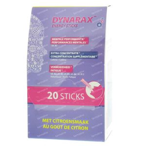 Dynarax Energy Sticks 20 stick
