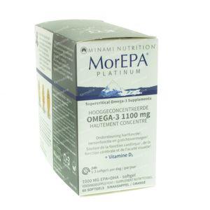 Minami MorEPA Platinum 60 capsules