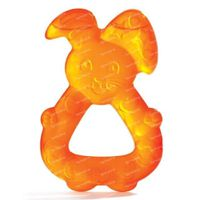 Dodie Bijtring Cool Konijn Oranje 6Maanden+ 1 st