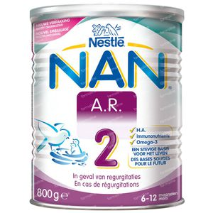 Nestlé NAN A.R. 2 Anti-Reflux 6M+ 800 g