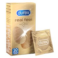 Durex Préservatifs Real Feeling Sans Latex 10 st
