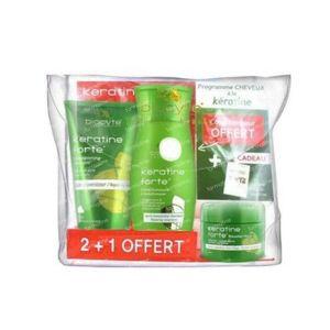 Biocyte Keratine Forte Shampoo + Conditioner + Gratis Balsem 300 ml