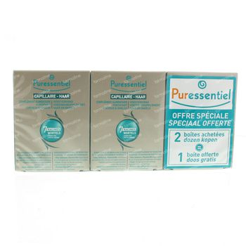 Puressentiel Complément Alimentaire Fortifiant Cheveux & Ongles Tripack 90 capsules