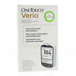 One Touch Verio Blood Glucose Meter mg/dl 1 stuk