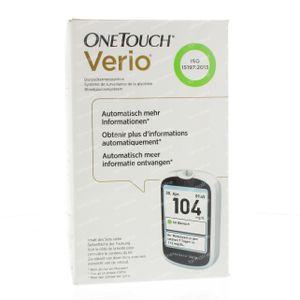 One Touch Verio Bloedglucosemeter  mg/dl 1 stuk