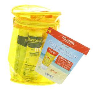Mustela Bebè Latte Solare Spf50+ Set Il Mio Primo Fine Settimane al Sole Corpo 200 ml