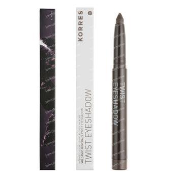 Korres KM Black Volcanic Minerals Eyeshadow Twist 46 Olive Green 1 pièce