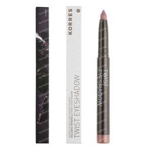 Korres Eyeshadow Twist Black Volcanic Minerals 68 Golden Pink 1 St