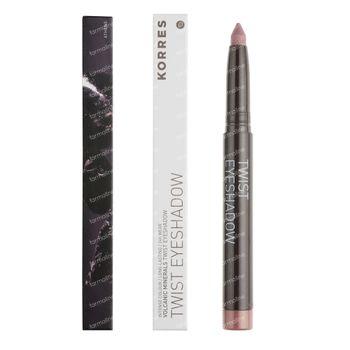 Korres KM Black Volcanic Minerals Eyeshadow Twist 68 Golden Pink 1 pièce