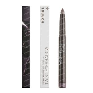 Korres Eyeshadow Twist Black Volcanic Minerals 33 Grey Brown 1 St