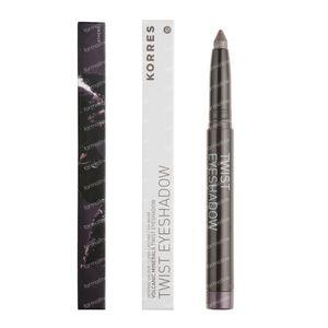 Korres Eyeshadow Twist Black Volcanic Minerals 33 Grey Brown 1 St